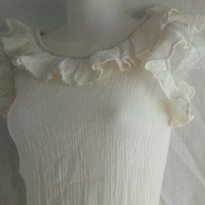 XS Vintage Georgiou George Balkan Ivory Dress